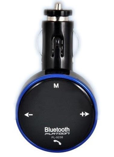 Bluetooth Fm Transmitter Çakmak Şarj Aleti Araç Kiti-Platoon